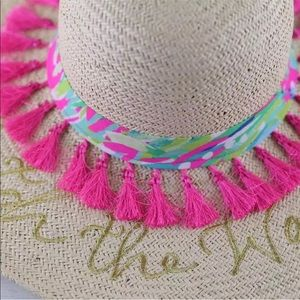 02412a3367649 Lilly Pulitzer Accessories - Lilly Pulitzer summer hat
